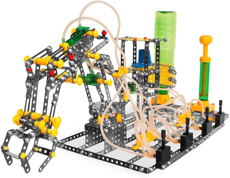 ventas en linea BestPysanky Functioning Crane Claw with Air Pressure Pressure Pressure Construction Model Kit (907 Pieces)  sorteos de estadio
