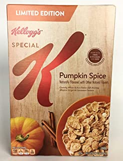 Special K Pumpkin Spice, Breakfast Cereal, 12.9 oz