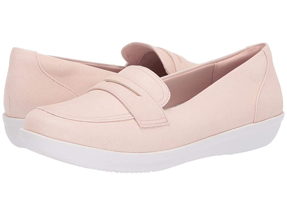Clarks Ayla Form (Light Pink Synthetic Nubuck) Women