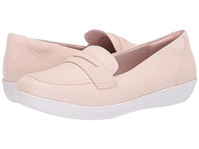 Clarks Ayla Form (Light Pink Synthetic Nubuck) Women