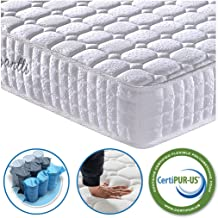 Vesgantti 9.4 Inch Multilayer Hybrid Twin Mattress - Multiple Sizes & Styles Available, Ergonomic Design with Breathable Foam and Pocket Spring/Medium Plush Feel