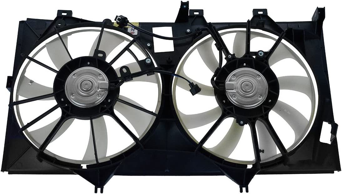 Radiator Dual Cooling Fan Assembly Camry New York Mall Ranking TOP2 Hybri for Toyota Avalon