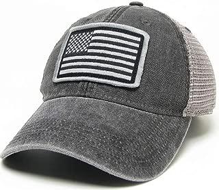 American Flag Legacy Trucker Hat - Black