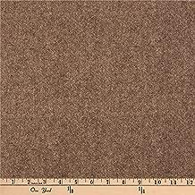 Benartex Another Moose is Loose Wool Tweed Tan Fabric