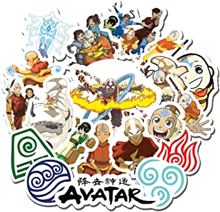 20 PCS Stickers Pack Avatar The Last Airbender Aesthetic Vinyl Colorful Waterproof for Water Bottle Laptop Scrapbooking Luggage Guitar Skateboard