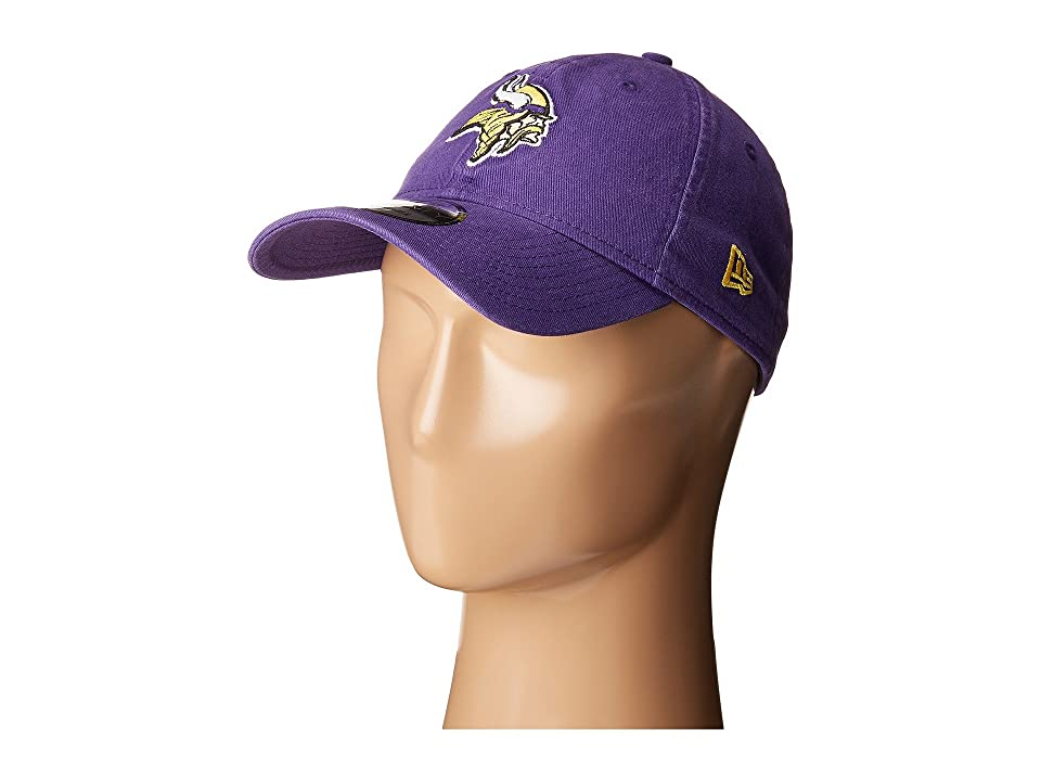 New Era Minnesota Vikings 9TWENTY Core (Purple) Baseball Caps