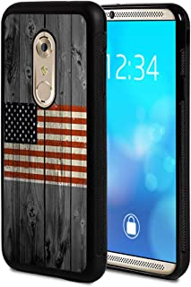 Moto G4 Case, Moto G4 Plus Case,Vobber Slim Anti-Scratch Architecture TPU Shockproof Protective Case Cover for Motorola Moto G4 / G4 Plus,American Flag on Old Wooden Board
