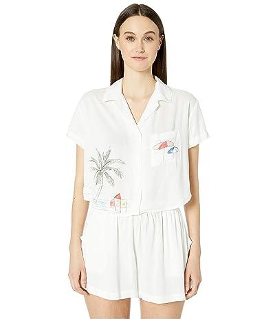 onia Celeste Shirt (White) Women