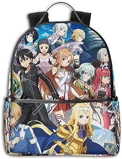 Sword Art Online Backpack Fashion School Star Printed Bag