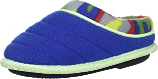Dearfoams Kids' Df Boy's Fleece Clog Slipper