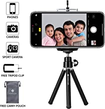 Everycom Mini Tripod with Mount Compatible with All Mobile Phones and Digital Camera - Black