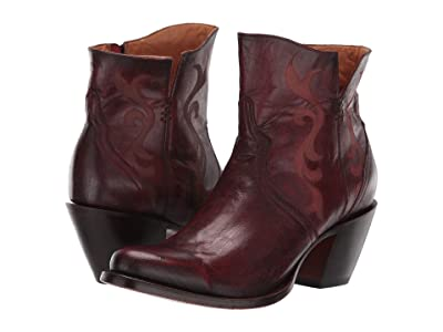 Lucchese Alondra (Red) Cowboy Boots
