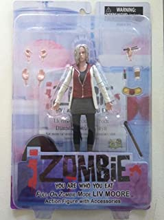 iZOMBIE Action Figure, NM, MIP, I Zombie, Vertigo, w accessories, Liv Moore