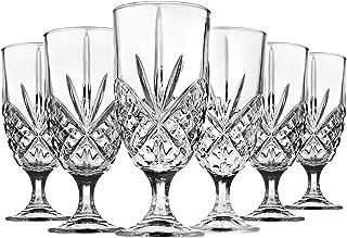 Iced Tea Beverage Glasses Dublin by Godinger - Set of 6