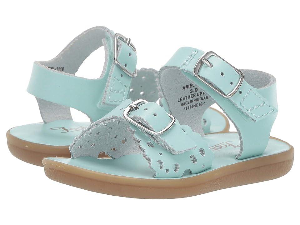 FootMates Ariel (Infant/Toddler/Little Kid) (Mint) Girls Shoes