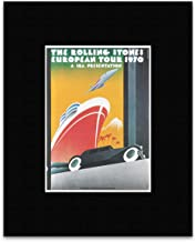 Stick It On Your Wall Rolling Stones - European Tour 1970 Mini Poster - 18x13cm