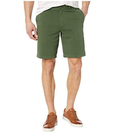 J.Crew 9 Garment-Dyed Chino Shorts (Sierra Green) Men