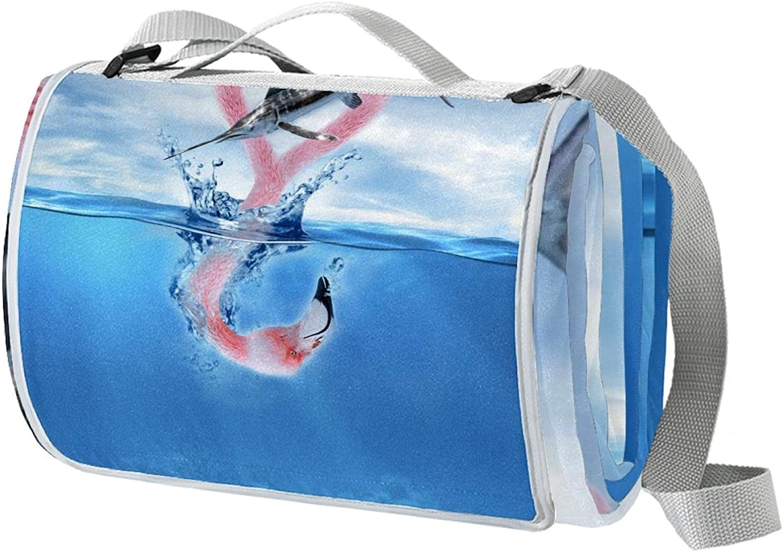 meikadianzishangwu online Houston Mall shop Large Portable Waterproof Outdoor Picnic Blan