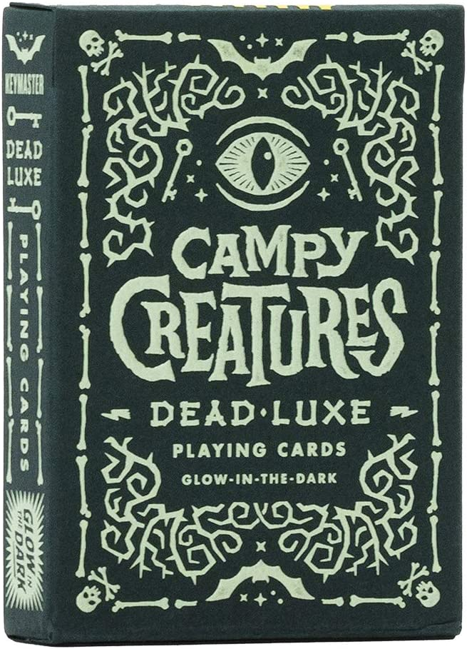 Campy Creatures Dead-Luxe Playing Cards