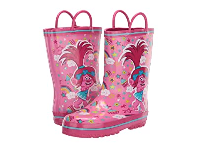 Favorite Characters Trolls Rain Boots TLS503 (Toddler/Little Kid) (Pink) Girl