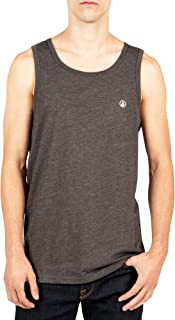 Men's Solid Emblem Tank Top