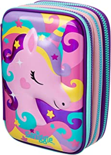Smiggle Fab Triple Up Hardtop Pencil Case from Maxmillion London (Mix)