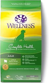 Wellness Complete Health Natural Dry Dog Food, Lamb & Barley