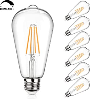 Best led edison bulb dimmable 100w equivalent Reviews
