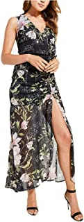 GUESS womens Sleeveless Nadira Maxi Dress