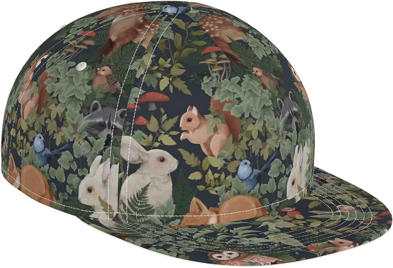 Fantasy Woodland Overseas parallel import regular item Brand Cheap Sale Venue Rabbit Deer Foxes Adjust Hat Cap Fancy Baseball