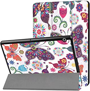 Phone Stand Huawei MediaPad T3 10.0 Leather Case,Premium Quality PU Leather Case Slim Flip Shell Case for Huawei MediaPad T3 10.0-7,Size Name:for Huawei MediaPad T3 10.0,Colour Name:color 08 حامل ال
