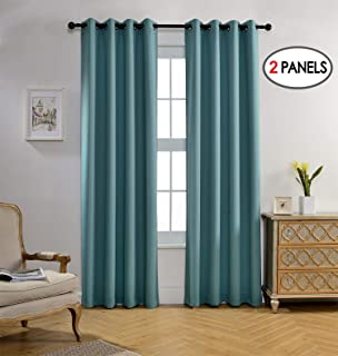 Best teal and chocolate curtains Reviews