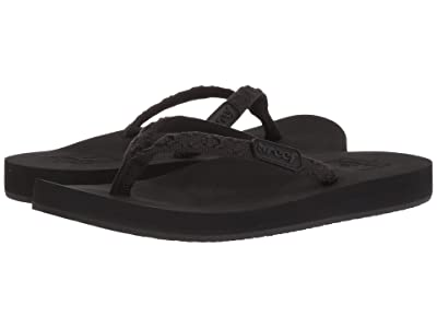 Reef Ginger (Black/Black) Women