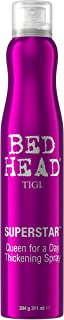 TIGI Bed Head Superstar Queen For a Day Thickening Spray - For Long Lasting Hold, Volume & Lift, Amplifes Body & Texture, Thickens, Strengthens & Conditions Hair, Natural Finish, 10.2 oz (Pack of 5)
