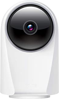realme 360 Deg 1080p Full HD WiFi Smart Security Camera (White) | Alexa Enabled | 2-Way Audio | Night Vision | Motion Trac...