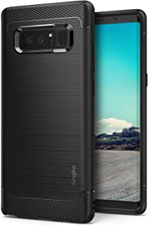 Ringke Onyx Designed for Galaxy Note 8 Case Raised Lip Impact Absorbing TPU Constructed in a Distinctive & High Performance Inspired Design Cover for Galaxy Note8 - Black