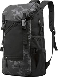 Travel Laptop Backpack, with USB Port for School Women Men Bag Fits 15.6 Inch