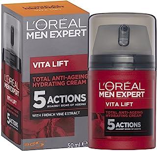 L'Oréal Paris Men Expert Vita Lift 5 Anti-Ageing Moisturiser, Firms and Brightens, with Pro Retinol, 50ml