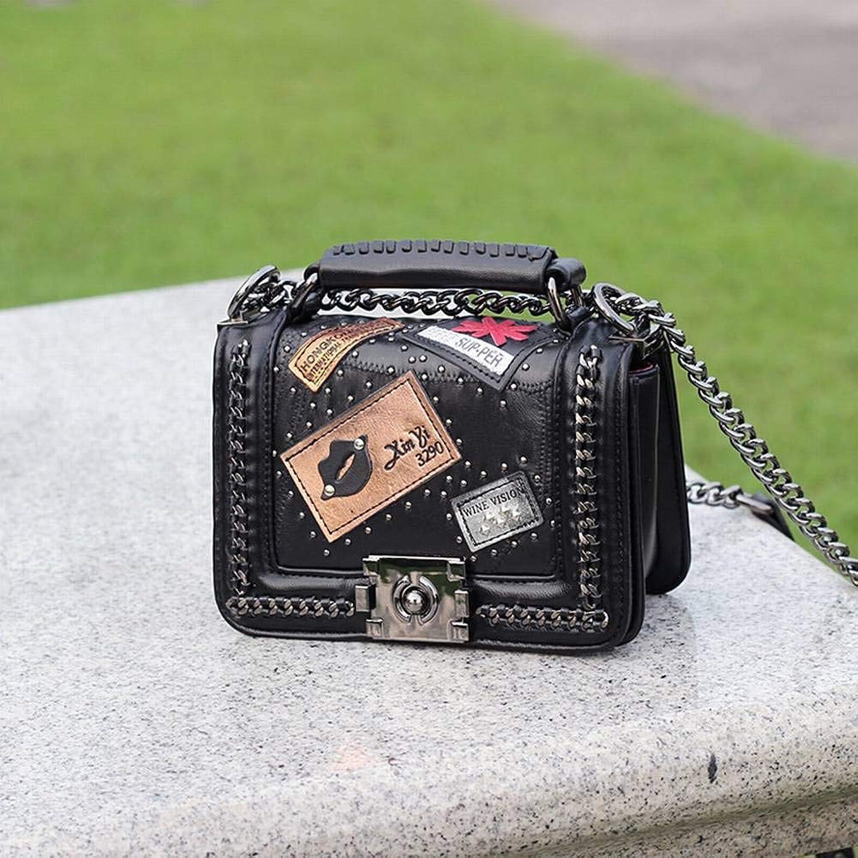 YT-ER Kreatives Mode-Multifunktions-Kette Diagonal Diagonal Diagonal Paket Retro Schaffell Handtaschen Abzeichen Weibliche Handtaschen für Frauen B07GSW985K  Elegantes Aussehen 161e90
