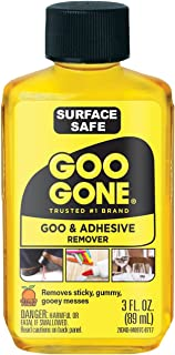 Goo Gone Adhesive Remover - 3 Ounce - Goo and Adhesive Remover for Stickers, Tape, and Sticky Messes