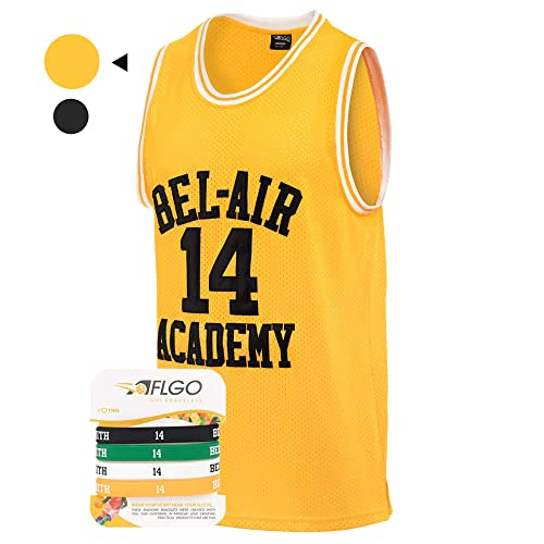 3bec21ce5573 AFLGO Fresh Prince of Bel Air  14 Basketball Jersey S-XXXL – 90 s Clothing