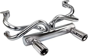 IAP Performance AC251420 2-Tip Exhaust for VW Beetle