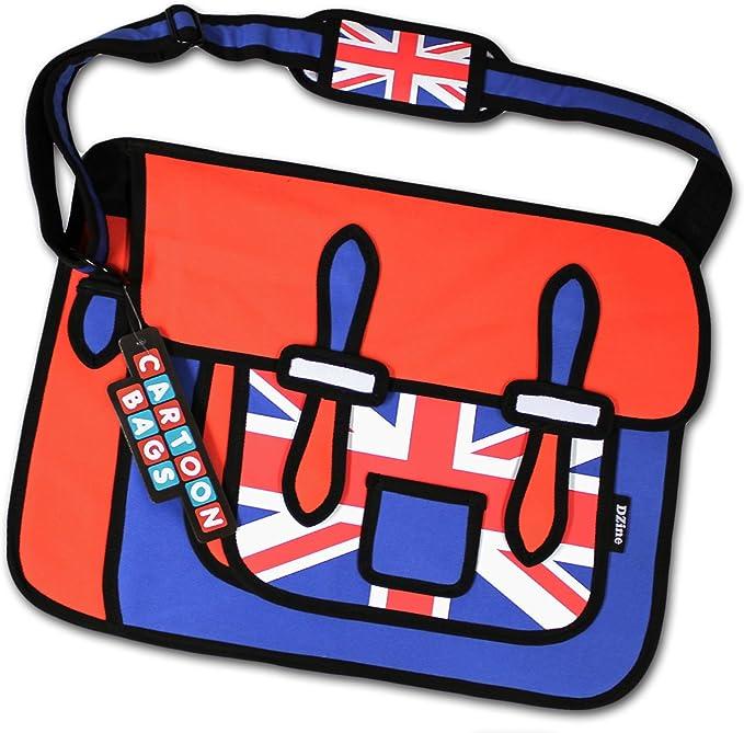 2D Union Jack Cartoon Bag : Amazon.co.uk: Shoes & Bags