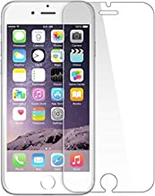 POPIO Tempered Glass for iPhone 6; iPhone 6S; iPhone 7; iPhone 8 (Transparent) Full Screen Coverage (Except Edges)