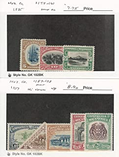 Mozambique Company, Postage Stamp, 159-161 Hinged, 189-93 Mint NH, JFZ