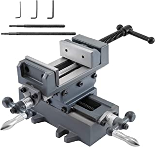 Mophorn 3 inch X-Y Compound Cross Slide Vise Drill Press Metal Milling With Free Double Screw Rods (3 Inch)