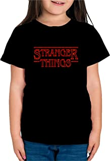 Camiseta de NIÑAS Stranger Things Once Series Retro 80 Eleven Will 004