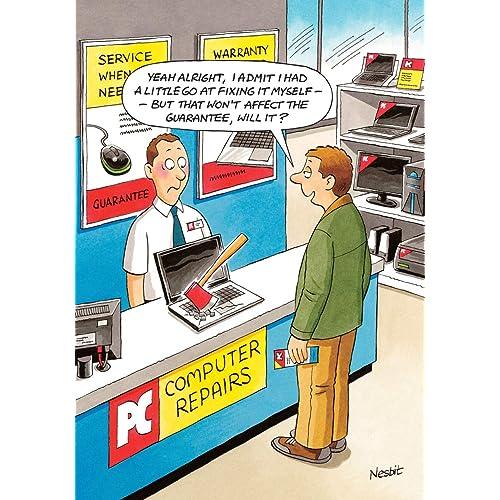 Humorous Greeting Card LD9576