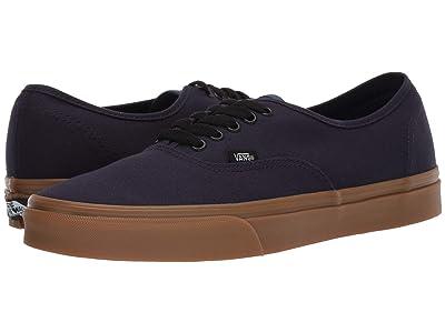 Vans Authentictm ((Gum) Night Sky/True Navy) Skate Shoes