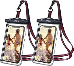 Mpow wasserdichte Handyhülle 6,8 Zoll für iPhone 12, TPU Einteiliges Design IPX8 Handy..